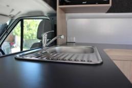 Campervan Details Sink