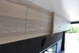 Campervan Details Roof Cabinets